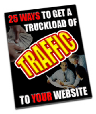 Product picture 25 Ways to get a truckload of traffic MRR + Bonuses