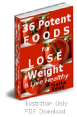 Product picture 36 Potent foods PLR + bonuses