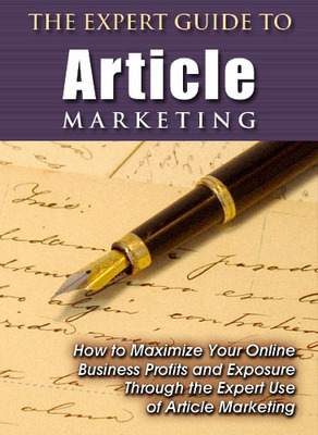 Product picture Expert Guide to Article Marketing PLR + bonuses