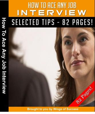 Product picture How to ace any job interview MRR + Bonuses
