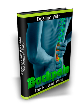 Product picture Dealing with your back pain the natural way MRR + Bonus