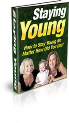 Product picture Staying Young PLR + Bonuses