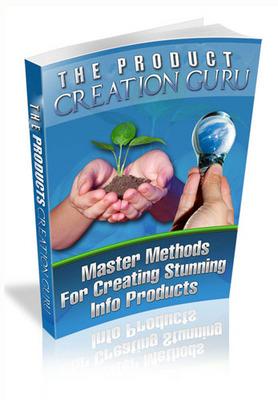 Product picture Product Creation Guru (PLR ebook) + Bonuses